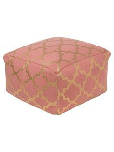 Poufs For Sale Delectable Rope Trellis Lemon Outdoor Pouf Outdoor Sale  20% Off Thru 69 Inspiration