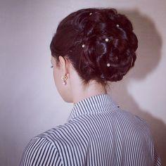 8) Make a festive hairstyle.   #PANDORAvalentinescontest