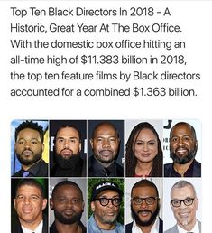 Black Directors outchea Killing It! Black History Facts, Black Pride, My Black Is Beautiful, African American History, Black Power, Black People, In This World, Interesting History, Interesting Stuff