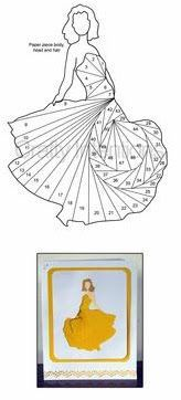 Iris Folding Templates & Inspirations - Aga Piechocińska - Picasa Web Albums: