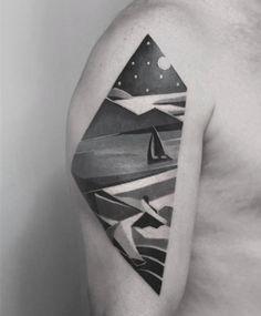 Surrealist Arm Piece by Karl Marks