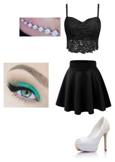 """""""My little friend Mia made this """" by alissacollins ❤ liked on Polyvore"""