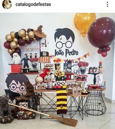 Harry Potter Fiesta, Cumpleaños Harry Potter, Harry Potter Drawings, Harry Potter Halloween, Harry Potter Wedding, Gateau Harry Potter, Harry Potter Birthday Cake, Harry Potter Balloons, Harry Pitter