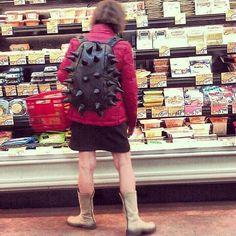 Ну крутой рюкзак, крутой!