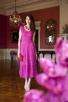 Ravelry: #07 Lace Dress pattern by Mari Lynn Patrick | VK Early Fall 2013