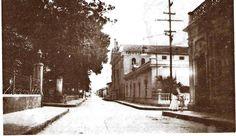 Iglesia de San Juan. Frente a la  Plaza Capuchinos. Años '30