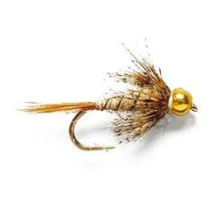 Tungsten Beadhead Soft Hare's Ear Nymph. I tie a similar version of this without the hackle.  Henry