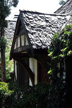 Snow White Cottages, Silver Lake. Because these were right around the corner from the original site of the Walt Disney Studios (now a supermarket), these served as dressing rooms. Later, as housing for Studio animators. They are authenically Disney Storybook inside and out-just darling!