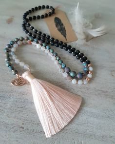 🌌 This pretty little mini mala, is asymmetrical in its design, worn to remind you, that your differences… Perfectly Imperfect, Pretty Little, Tassel Necklace, Im Not Perfect, Mini, Instagram, Jewelry, Design, Fashion