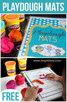 Playdough Mats... need to make!