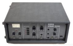 KORG S-300 STAGE ECHO - not as iconic as a Roland Space Echo, but... more versatile...