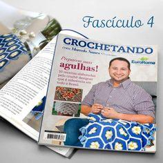 Apostila Crochetando por Marcelo Nunes Fascículo 04 - Bazar Horizonte