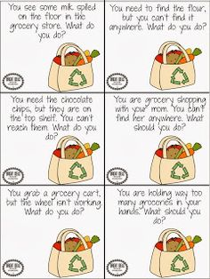 Grocery Shopping Language: Pragmatics, Receptive & Expressive Language Unit.