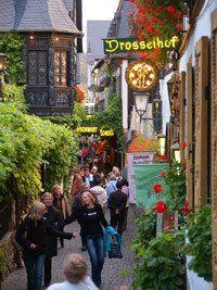 Drosselgasse Rüdesheim.    © Rüdesheim Tourist AG, Fotograf: Karl-Heinz Walter