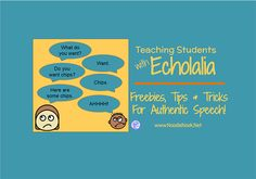 Talking to someone who repeats back everything that you say is tough...Teaching them is tougher… Read more on teaching students with Echolalia?