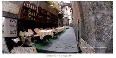 A street café in Sorrento