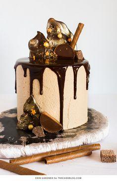drip cake festif