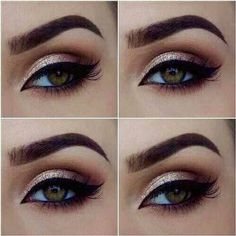 beautiful makeup for hazel eyes - Google Search