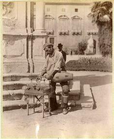 Italia c 1870 Il venditore d'acqua