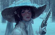 Snow, Z.W. Gu on ArtStation at https://www.artstation.com/artwork/LKVQK