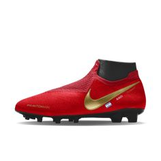 Nike Phantom Vision Elite FG iD Firm-Ground Football Boot Soccer Boots ab1d7c4a9c6
