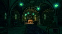 HOGWARTS common rooms- Slytherin