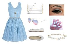 """""""Lovely day in summer"""" by info-klompa ❤ liked on Polyvore featuring Yumi, DIENNEG, MICHAEL Michael Kors, Robert Rose, Summer, fashionista, fashionable, fashiontrend and fashionset"""