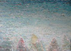 Купить traghetto - комбинированный, переход цвета, море, лодка, лодки, люди…
