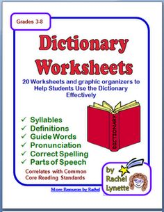 ... on Pinterest | Dictionary skills, Dictionary activities and Worksheets