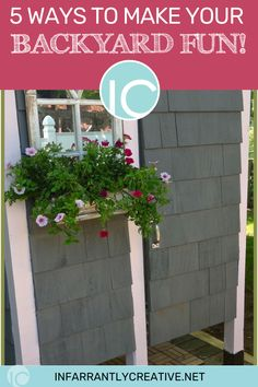 Take a look at these backyard ideas that encourage spending more time outdoors. Backyards can be fun for everyone–not just families with children. #backyard #diyprojects #outdoorfun #fun #fungames #outdoorliving Diy House Projects, Backyard Projects, Diy Wood Projects, Backyard Ideas, Easy Diy Crafts, Fun Crafts, Knock Off Decor, Funky Junk Interiors, Handmade Home