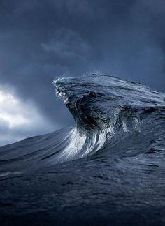 Australian photographer Ray Collins captures the moody ocean at daybreak.