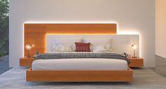 Bedroom False Ceiling Design, Bedroom Bed Design, Bedroom Furniture Design, Modern Bedroom Design, Bed Furniture, Bedroom Sets, Modern Luxury Bedroom, Luxurious Bedrooms, Bed Back Design