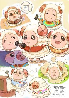 Animal Crossing Fan Art, Animal Crossing Villagers, Animal Crossing Memes, Animal Crossing Qr Codes Clothes, Animal Memes, Motifs Animal, Overwatch, Jolie Photo, Cartoons