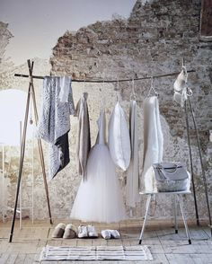 "BAMBOO CLOTHING RACK, ""New Inspiration"", photo by VT Wonen, pinned by Ton van der Veer"