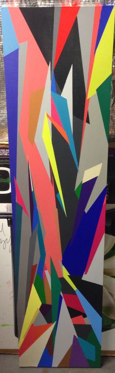 High Strung, 2013. Acrylic on masonite. Lindsey Walczyk.