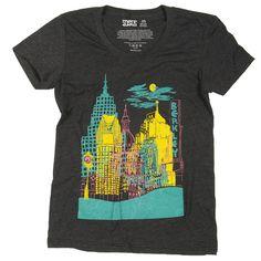 Fab.com   Detroit Downtown Tee Women's. NEED IT