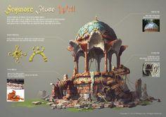 Seymore Stone Well, Whihoon Lee (whinbek) on ArtStation at https://www.artstation.com/artwork/seymore-stone-well