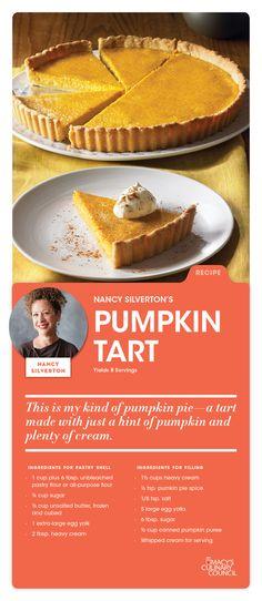 Macy's Culinary Council Chef Nancy Silverton's Pumpkin Tart