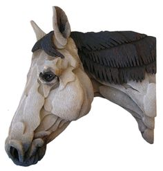 Horse Sculpture Special Order Original by PARTSofaLargerWorld, $400.00