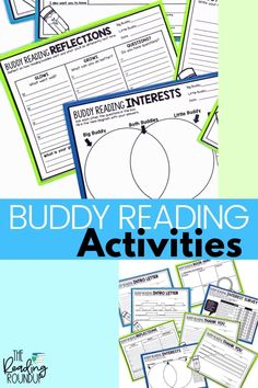 Is your Daily 5 Buddy Reading Center as effective as you'd like for it to be? These reading buddies bookmarks are guaranteed to lead to more student engagement. Elementary students can practice decoding unknown words, answering comprehension questions, making connections, and retelling stories with these bookmarks. Reading response sheets are also available for additional accountability. A must-have for your reading workshop! #thereadingroundup #literacycenters #readingbuddies Teaching Reading Strategies, Guided Reading Activities, Guided Reading Groups, Reading Centers, Reading Workshop, Student Reading, Reading Resources, Literacy Centers, Teacher Resources