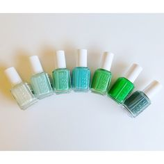 Love all of these Essie colors. Want them all