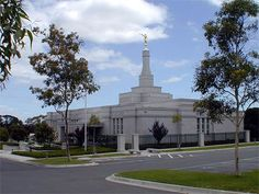 Melbourne Australia Mormon Temple. © 2004, Jeffrey H. Whittington. All rights reserved.