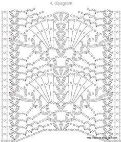 Watch This Video Beauteous Finished Make Crochet Look Like Knitting (the Waistcoat Stitch) Ideas. Amazing Make Crochet Look Like Knitting (the Waistcoat Stitch) Ideas. Filet Crochet, Crochet Stitches Chart, Crochet Lace Edging, Crochet Motifs, Crochet Borders, Irish Crochet, Crochet Doilies, Crochet Curtains, Crochet Tunic