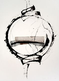 theforbiddencolors: by Kitty Sabatier - black and white - Large Abstract Wall Art - Home Decor Trend Modern Art, Contemporary Art, Black White Art, Inspiration Art, Art Abstrait, Calligraphy Art, Abstract Wall Art, Ink Painting, Art Plastique