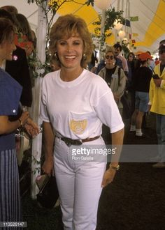 Stefanie Powers during Cartier Invitational Celebrity Polo Matches at Southampton Polo Club in Bridgehampton New York United States Hart Pictures, Stephanie Powers, Polo Match, Polo Club, Favorite Tv Shows, Natalie Wood, Hollywood, Actresses, Southampton
