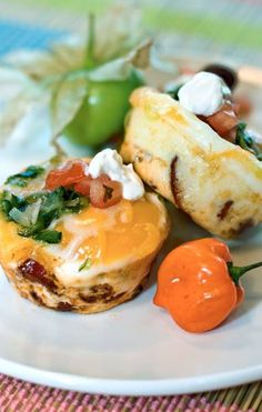 Low Carb CHILE RELLENOS HUEVOS... Recipe from George Stella...Low Carbing Among Friends on Facebook