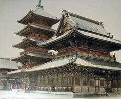 Rare Early Photography of Japan, 1860 – 1900 (32 photos) | Kenga Rex | Tennoji Buddhist temple at Osaka, photographer Felic Beato