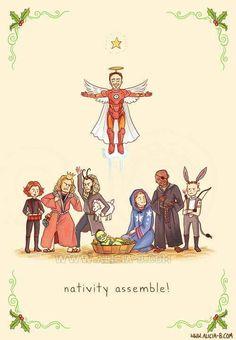 Nativity Assemble!