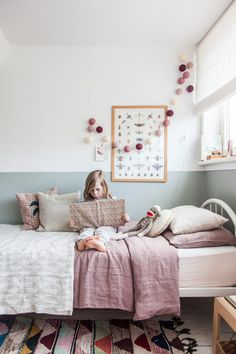 Neutral little girls' room with functional furniture. Via Avenue Lifestyle