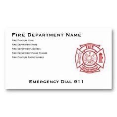 Fire fighter maltese business card fire fighters business cards fire department maltese cross business card colourmoves